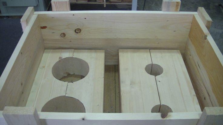 supporti selle legno